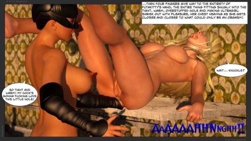 Zuleyka – Ultragirl Vs Futakitty- Affect3D - part 4