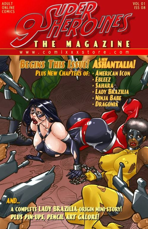 9 Super Heroines – The Magazine 8