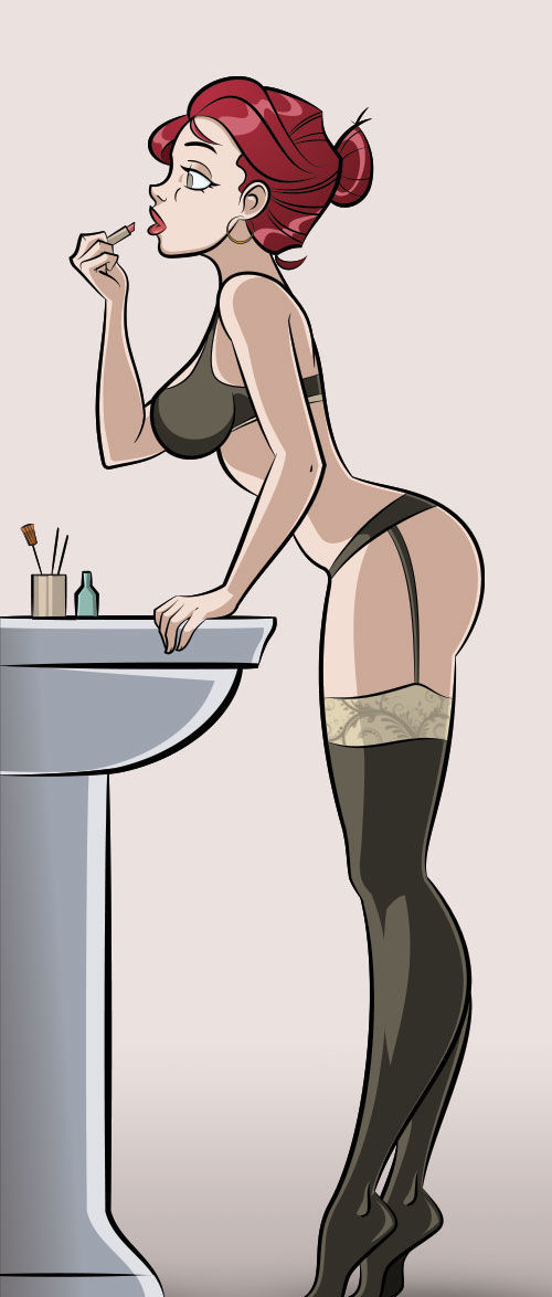 Picture- Sexy cartoon.